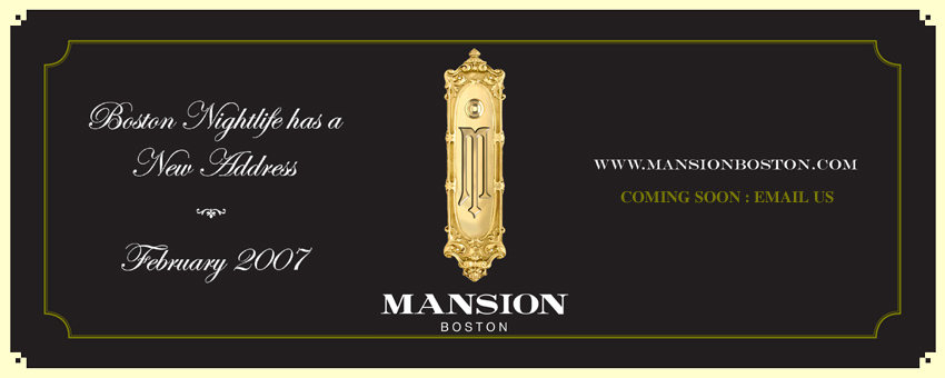 Mansion Night Club Boston Ma